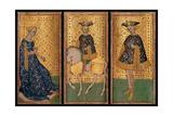 Brera-Brambilla Tarot Cards Prints by Bonifacio Bembo