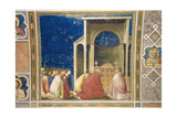 Life of the Virgin, Prayer for the Blossoming of the Branches Art by  Giotto di Bondone