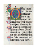 Psalter with holiday Hymns, illuminated manuscript, 15th c. Osservanza Basilica, Siena, Italy Art