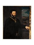 Portrait of Count Antonio Porcia Prints by  Titian (Tiziano Vecelli)