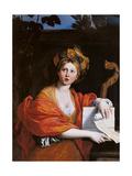 Cumaean Sibyl Giclee Print by il Domenichino Zampieri
