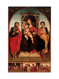 Madonna and Child with Sts. Crispin and Crispinian Prints by  Giovanni
