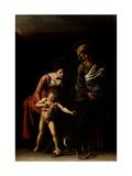 Madonna Palafrenieri Prints by  Caravaggio