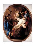 Ecstasy of St. Catherine of Siena Plakat af Pompeo Batoni