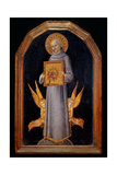 St. Bernardino in Glory Posters by Sano di Pietro