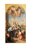 Departure of St. Paula of Rome to the Holy Land Prints by Giuseppe Bottani