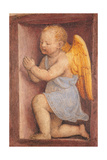 Little angel worshipping Poster by Bernardino Luini