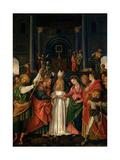 Marriage of the Virgin Plakat af Gaudenzio Ferrari