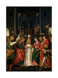 Marriage of the Virgin Print by Gaudenzio Ferrari