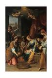 Nativity of the Virgin Mary Prints by Claudio Ridolfi
