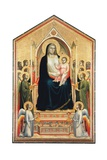 Madonna in Majesty (Ognissanti Madonna) Poster by  Giotto di Bondone