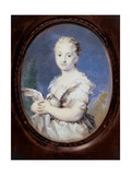 Young Lady with a Dove Giclee Print by Rosalba Carriera