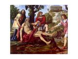 Ham Mocking Noah, Bernardino Luini, 1510-1515. Brera Gallery, Milan, Italy Prints by Bernardino Luini
