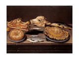 Still Life Ox Head, Sweets and Fishes Posters by Pitocchetto Ceruti