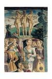 Allegory of April: Triumph of Venus, Francesco del Cossa, 1466-1470. Palazzo Schifanoia, Ferrara Prints by Francesco Del Cossa