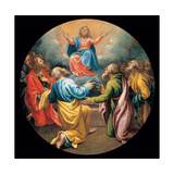 Mysteries of the Rosary, Assumption of Christ Prints by Vincenzo Campi