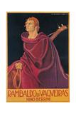 Film poster for Rambaldo di Vaqueros Prints by Marcello Dudovich Dudovich