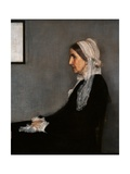 Arrangement in Gray and Black No. 1 (Whistler's Mother) Prints by James Abbott McNeill Whistler