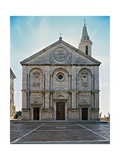 Fae of Pienza Cathedral Prints by Bernardo Rossellino