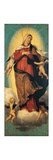 Assumption of the Virgin, panel from Polyptich Print by Moretto Da Brescia