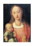 Madonna and Child with the Pear Giclee Print by Albrecht Durer