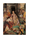 Adoration of the Magi Giclee Print by Gaudenzio Ferrari