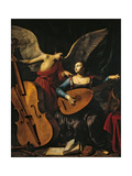 St. Cecilia and the Angel Giclee Print by Carlo Saraceni