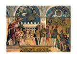 Court of Gonzaga, by Andrea Mantegna, c. 1465-1474. Camera degli Sposi, Ducal Palace, Mantua. Giclee Print by Andrea Mantegna