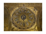 Dome of Emmanuel, Overall view. St. Mark's Basilica, 10th c. Venice, Italy Poster