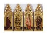 Quaratesi Polyptych, St. Mary Magdalene Poster by Gentile da Fabriano