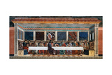 Last Supper Prints by Andrea Del Castagno