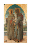 St. Francis and St. Anthony Abbot Prints by Schiavone Chiulinovich