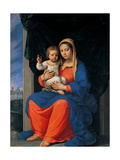 Madonna of Fiorano Prints by Ludovico Lana