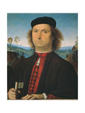Portrait of Francesco delle Opere Giclee Print by Perugino Vannucci