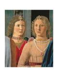 Montefeltro Altarpiece, Piero della Francesca, 1472-74. Brera Gallery, Milan, Italy Detail. Posters by  Piero della Francesca