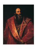 Portrait of Pietro Aretino Giclee Print by  Titian
