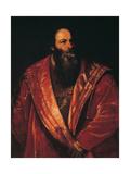 Portrait of Pietro Aretino Poster by  Titian (Tiziano Vecelli)