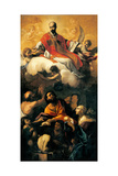 Apotheosis of St. Ignatius Posters by Giacinto Brandi