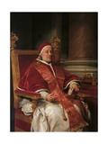 Portrait of Clement XIII Prints by Anton Raphael Mengs