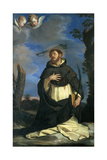 St. Peter Martyr Print by  il Guercino
