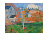 Landscape in Brittany The David Mill Prints by Paul Gauguin