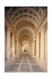 Palazzo Spada, Hallway by Borromini, 17th c. Rome, Italy Posters by Borromini Castelli