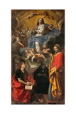 Immaculate Conception and Sts. John, Nicholas, & Euphemia Posters by Pesarese Cantarini