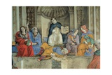 Triumph of St. Thomas Aquinas Prints by Filippino Lippi