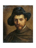 Self portrait Prints by Annibale Carracci