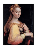 St. Catherine of Alexandria Art by Barbara Longhi