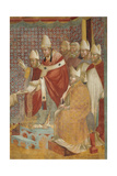 Confirmation of the Rule Posters by  Giotto di Bondone