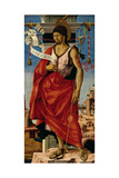 Griffoni Polyptych St. John the Baptist Poster by Francesco Del Cossa