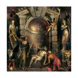 Pieta Prints by  Titian (Tiziano Vecelli)