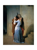 Kiss Posters by Francesco Hayez